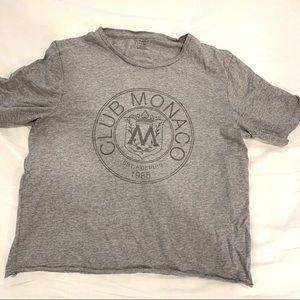Club Monaco classic logo tee